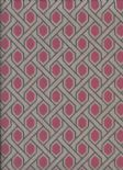 Hampton Garden Sweet Pea Flock Wallpaper 935 01 45 9350145 By Casamance